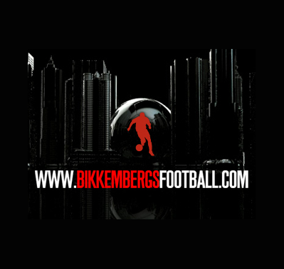 Screenshot of Bikkembergs Football experience site and online store